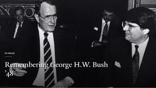 Remembering George H.W. Bush '48