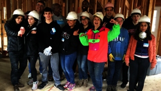 Morristown, NJ: Yale alumni and friends had a great time at their build for Morris Habitat for Humanity.