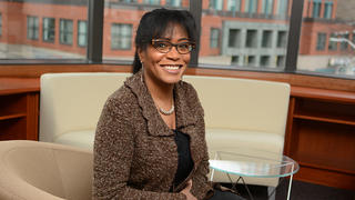 Patricia Melton '83 returned to New Haven in 2012 to become the executive director of New Haven Promise.