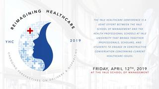 Logo for the Yale Healthcare Conference
