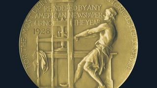The Pulitzer Prize medal