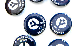 2019 Yale Day of Service pins
