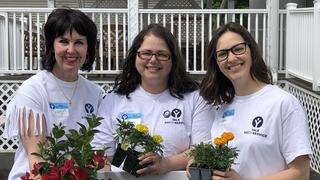 The Yale School of Public Health volunteered at Leeway in New Haven as part of the 2019 Yale Day of Service.