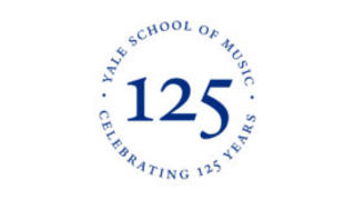 "Yale School of Music ""125 Years"" emblem"