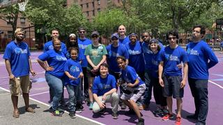 Alumni take part in Howard Park playground beautification