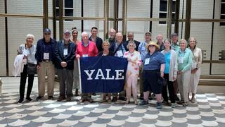 The Yale alumni travelers to the 2019 Glimmerglass Festival
