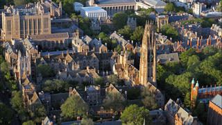 Yale Campus with Harkness