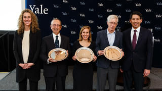 The recipients of the 2019 Yale Alumni Fund Chairman's Awards