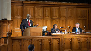 Rosenkranz Originalism Conference features Justice Thomas '74 JD