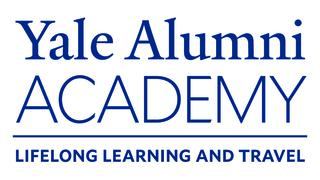 The logo and motto for Yale Alumni Academy