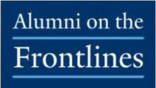 Alumni on the Frontlines graphic