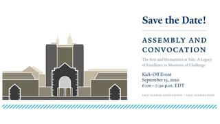 Graphic for the kick-off event for 2020 Assemly and Convocation