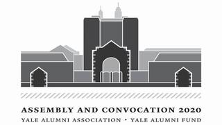 Logo for the 2020 YAA Assembly and Yale Alumni Fund Convocation