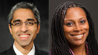 Pandemis task force leaders Vivek Murthy '03 MBA and Prof. Marcella Nunez-Smith