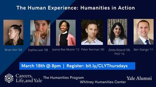 Careers, Life, and Yale Thursday Show: Humanities in Action
