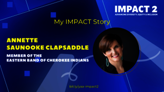 IMPACT 2: Annette Clapsaddle '03, Member of the Eastern Band of Cherokee Indians