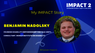 IMPACT 2: Benjamin Nadolsky '18, World Institute on Disability