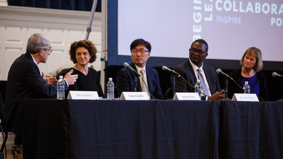 The Thursday morning dean's panel at 2019 Assembly and Convocation