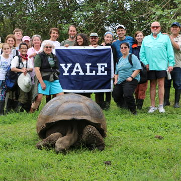 Yale Educational Travel in the Galapagos, 2017.