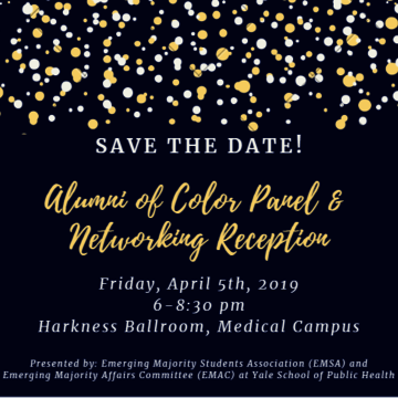 Save the date for the Yale School of Public Health Alumni-Led Panel and Networking event