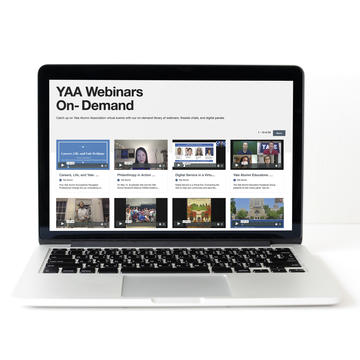 YAA Webinars On-Demand webpage